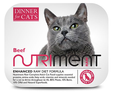 Nutriment Dinner For Cats - Beef (175g)