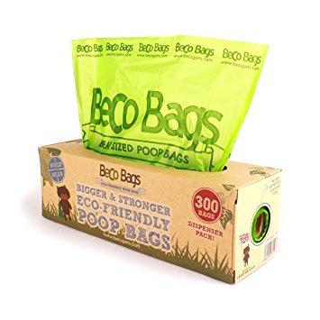 Beco Poop Bags 300 Dispenser Roll - Biodegradable