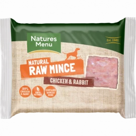 Natures Menu  - Just Rabbit & Chicken Mince (400g)