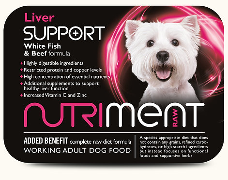 Nutriment - Liver Support - 500g Tub