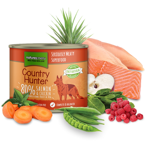 N/M Country Hunter - Salmon with Chicken (600g)