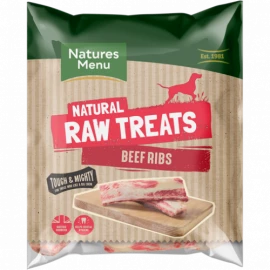 Natures Menu - Raw Beef Ribs (2 pack)