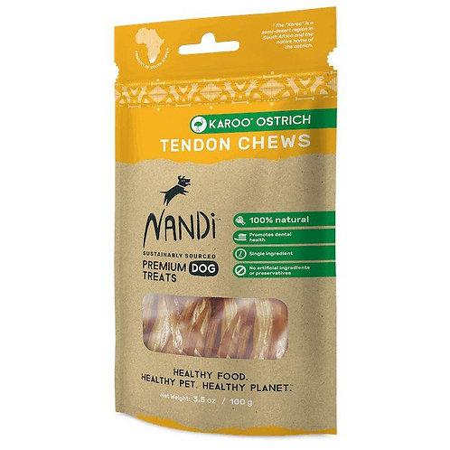 Nandi Premium Tendon Chews Karoo Ostrich