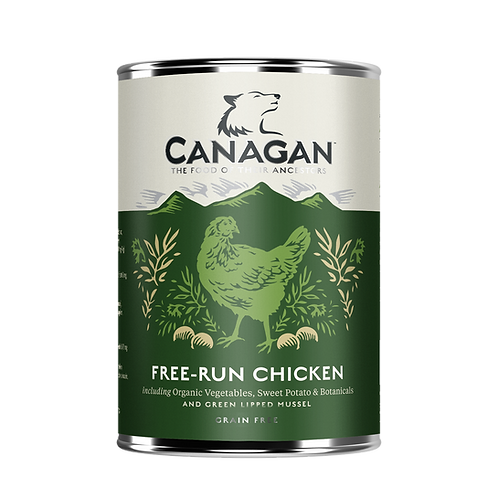 Canangan Free-Run Chicken 400g Adult Wet