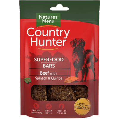 N/M Country Hunter Superfood Bars Beef with Spinach & Quinoa