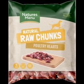 Natures Menu - Chicken (Poultry) Heart 1kg