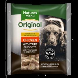 Natures Menu - Chicken & Tripe Nuggets (1kg)