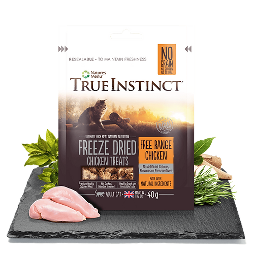 Freeze Dried Cat Treats 40g