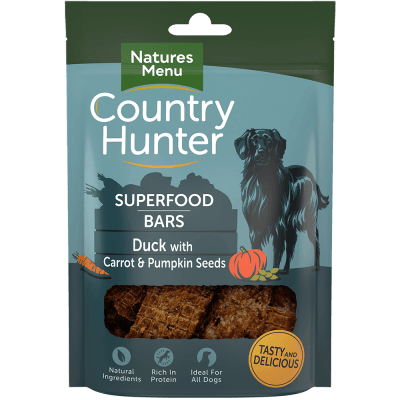 N/M Country Hunter Superfood Bars Duck with Carrot & Pumpkin Seeds