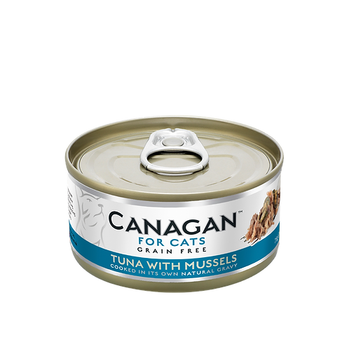 Canagan Tuna with Mussels 75g All Lifestages Cat Wet