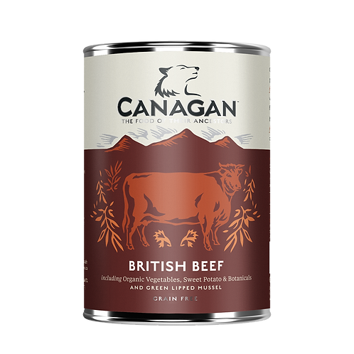 Canangan British Beef 400g Adult Wet
