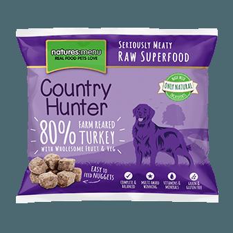 N/M Country Hunter - Farm Reared Turkey Nuggets (1kg)