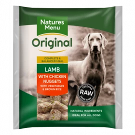 Natures Menu - Lamb Nuggets (1kg)