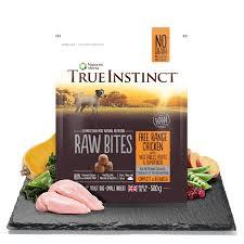 True Instinct Small Breed Raw Bites Selected Chicken 500g