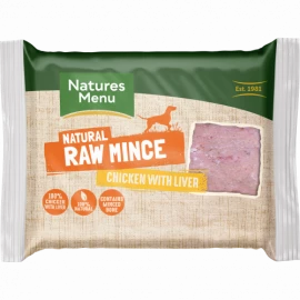Natures Menu - Chicken & Liver (400g)