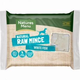 Natures Menu - Just White Fish Mince (400g)
