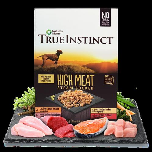 True Instinct High Meat Fillet Pouch Adult Dog Multipack