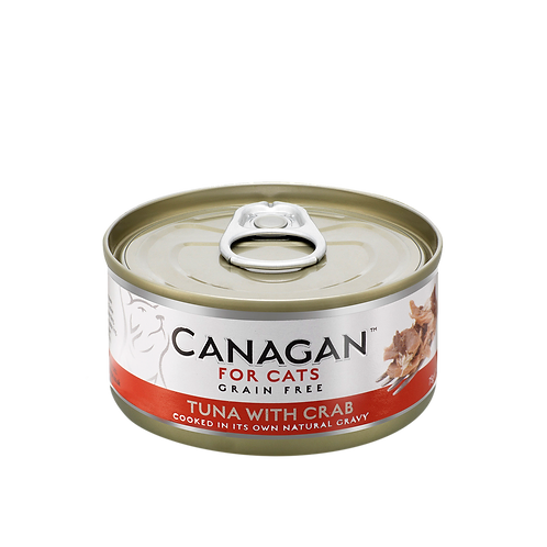 Canagan Tuna with Crab 75g All Lifestages Cat Wet