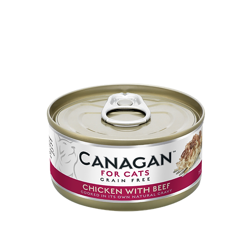 Canagan Chicken with Beef 75g All Lifestages Cat Wet