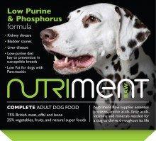 Nutriment Low Purine & Phosphorus formula