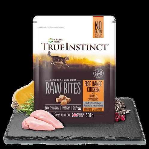 True Instinct Cat Raw Bites Free Range Chicken