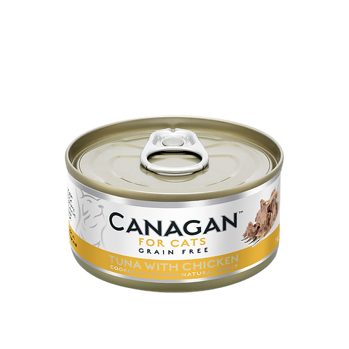 Canagan Tuna with Chicken 75g All Lifestages Cat Wet
