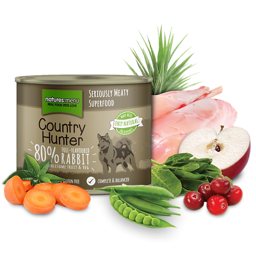 N/M Country Hunter - Full Flavoured Rabbit (600g)