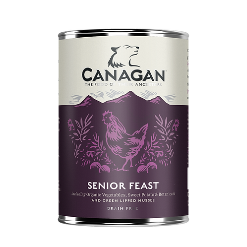 Canagan Senior Feast 400g Adult Wet
