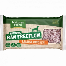 Natures Menu - Free flow Lamb & Chicken (2kg)