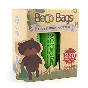 Beco Poop Bags 270 Pack - Biodegradable