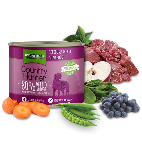 N/M Country Hunter - Wild Venison Can (600g)