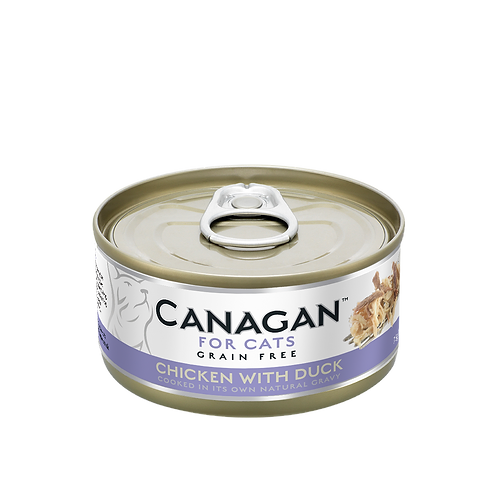 Canagan Chicken with Duck 75g All Lifestages Cat Wet