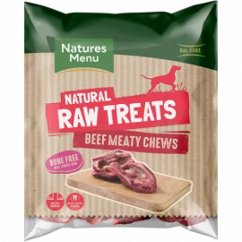 Natures Menu - Raw Meaty Beef Chew (2 pack)
