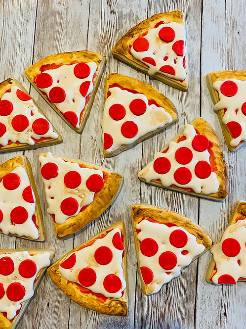 Pepperoni Pizza cookies