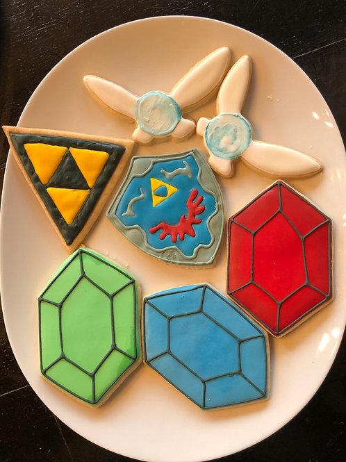 The Legend of Zelda cookies