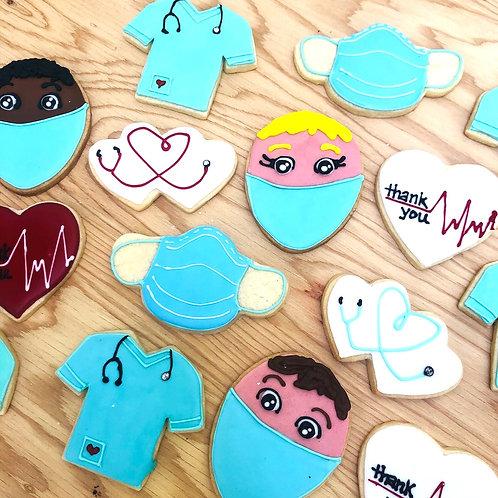 Drs Nurses Appreciation cookies