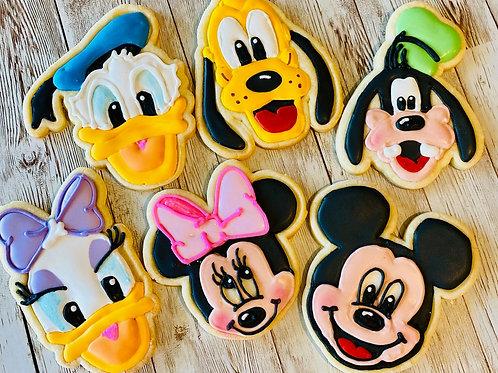 Mickey and Friends Minnie, Donald Duck, Daisy, Pluto, Goofy