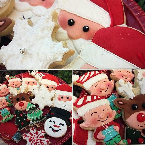 Santa, Elves and Toys