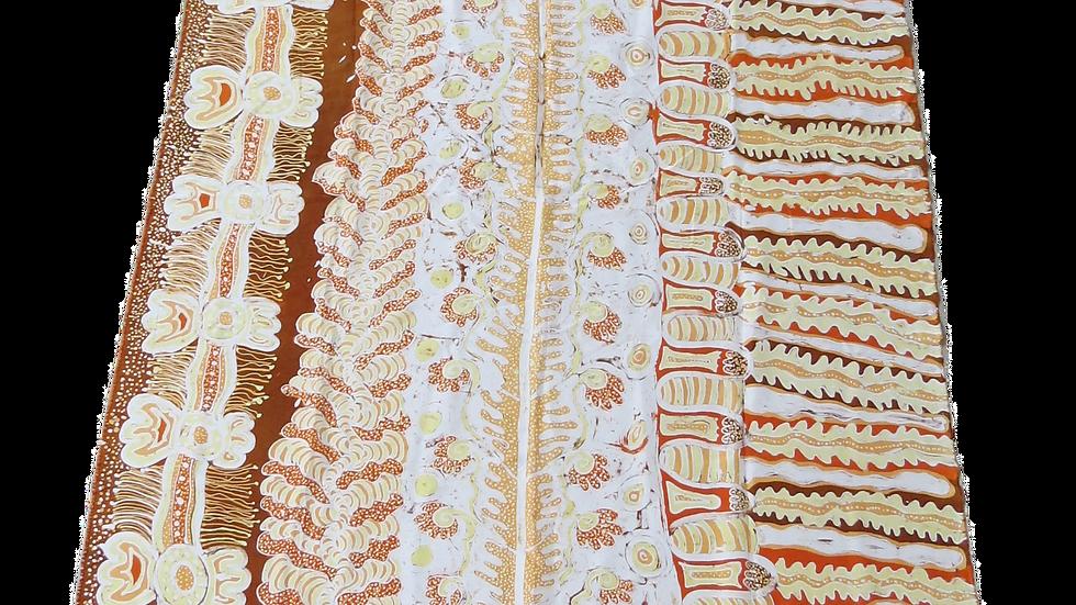 Tjunkaya Tapaya Ernabella Arts :   silk  batik