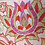 Thumbnail: Suzani embroidered  bright flowers cushion cove