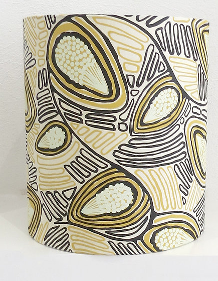 Australian Aboriginal Fabric Lampshade: Magabala