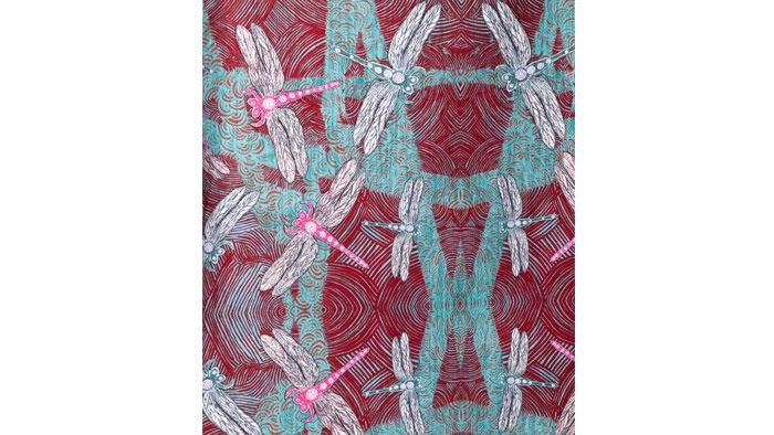 Ocean Tea Towel  by  Sheryl J Burchill