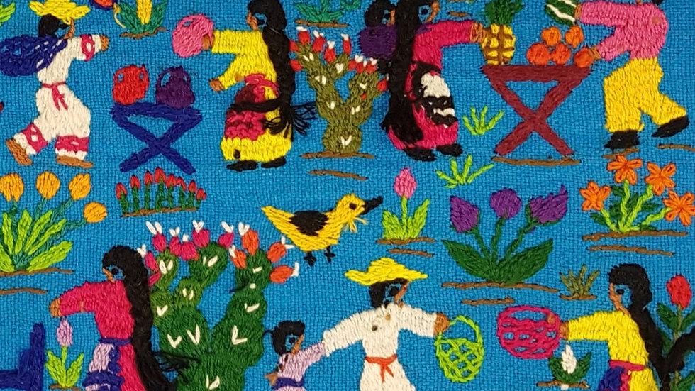 Mexican Market  Embroidery