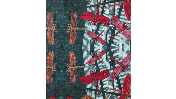 Tea Towel: Rainforest by  Sheryl J Burchill