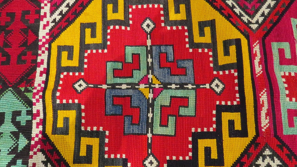 Tekke Embroidered Panel