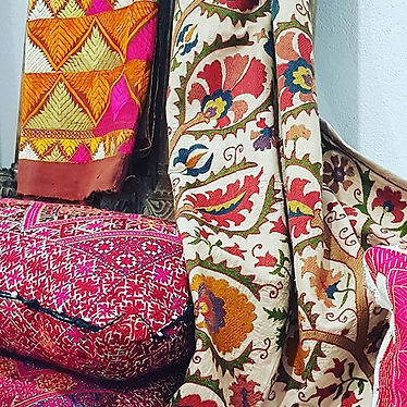 Traditional handmade textiles
