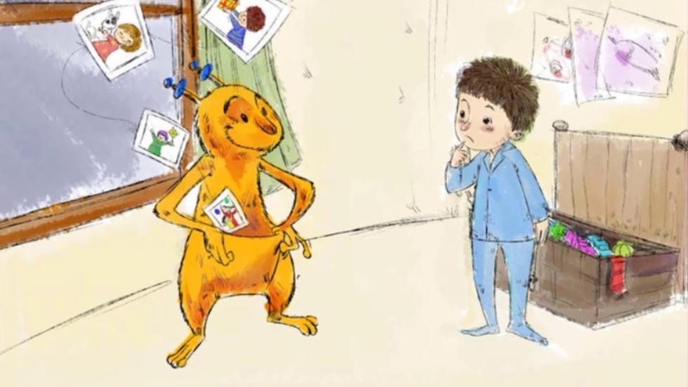 قصة المنطاد العجيب!