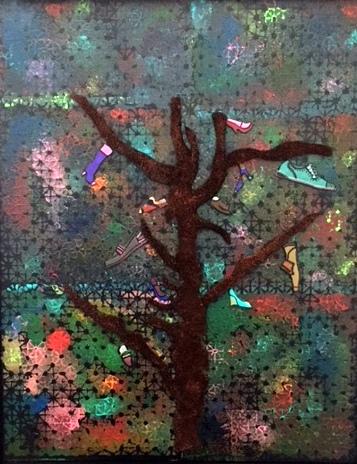 Shoe Tree 30x24