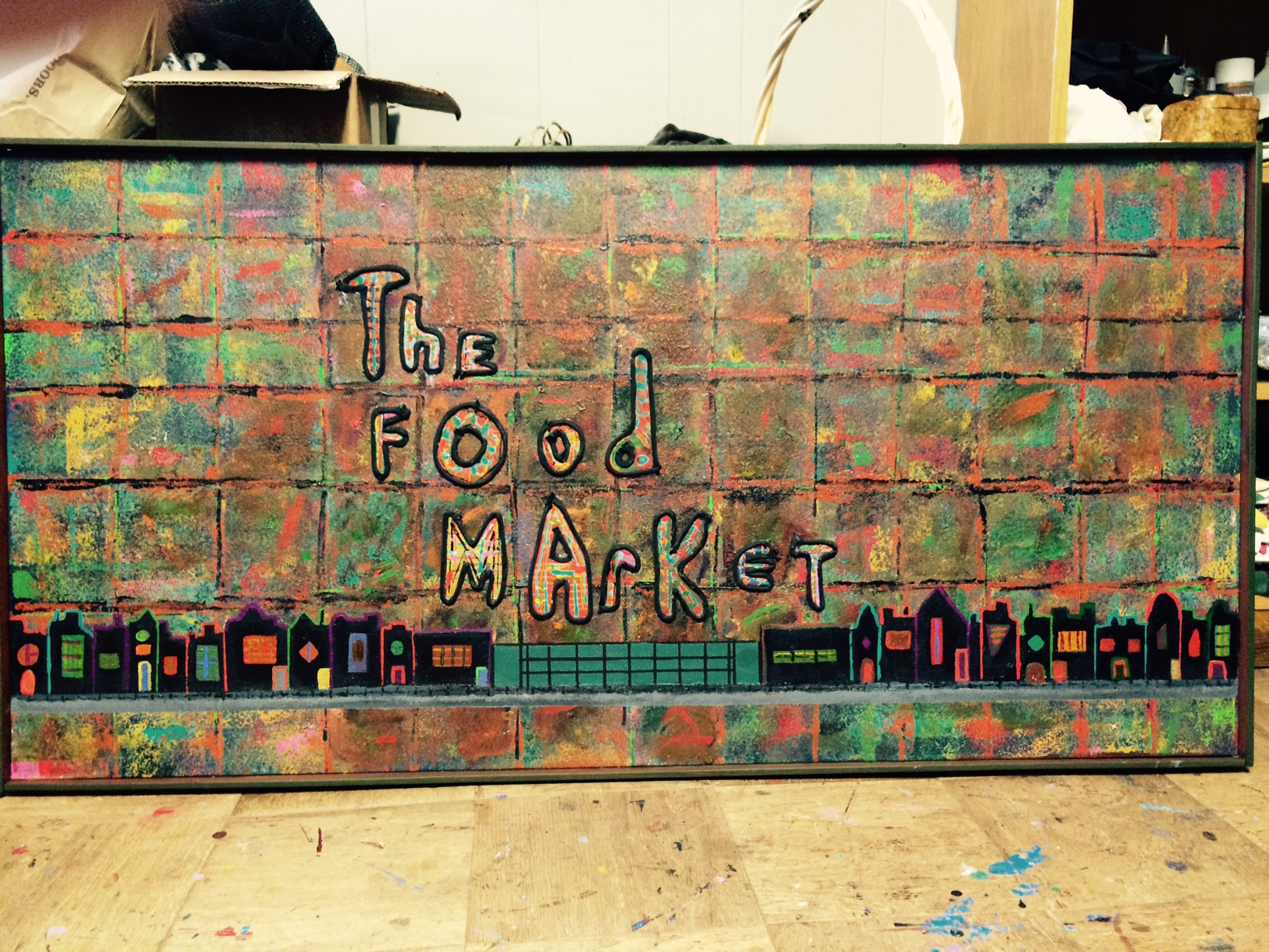 The Food Market 24x48