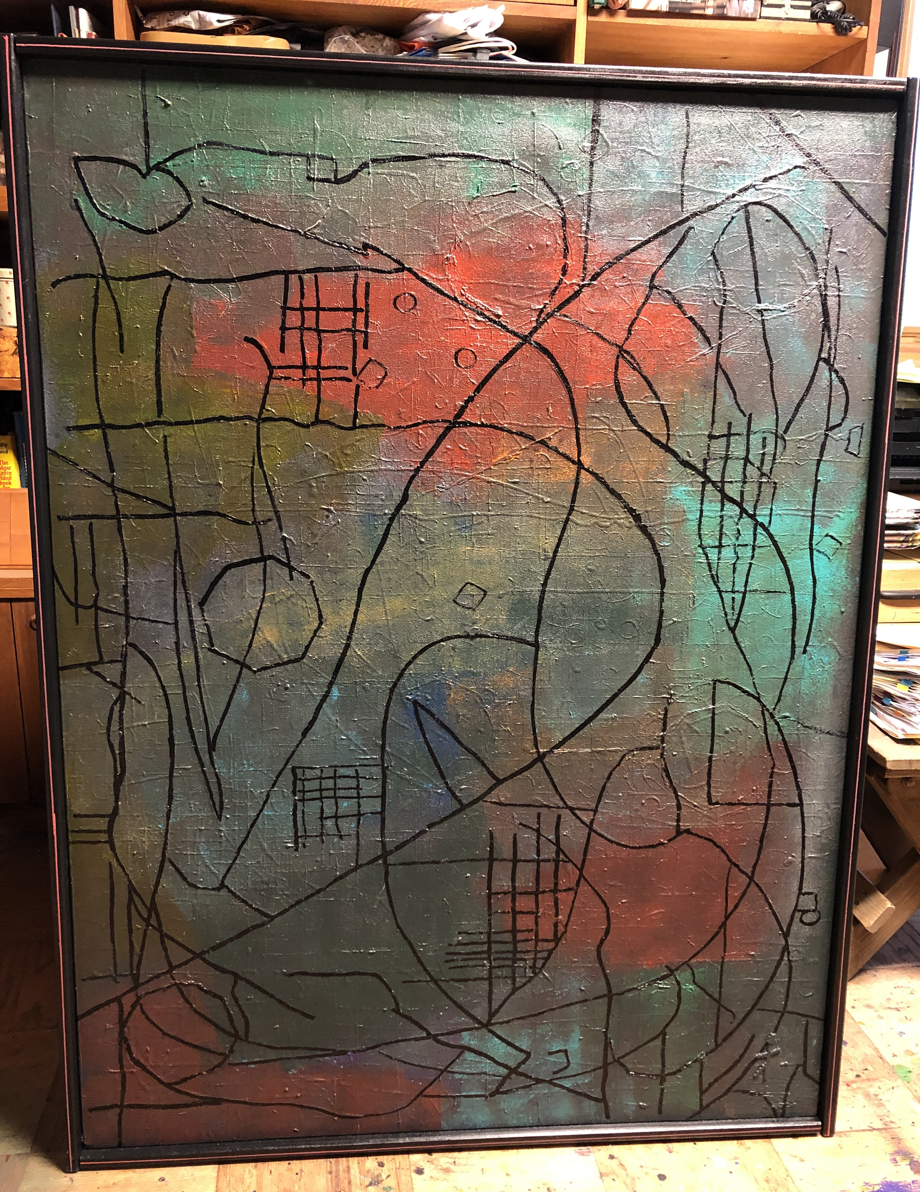 Mapped 48x36